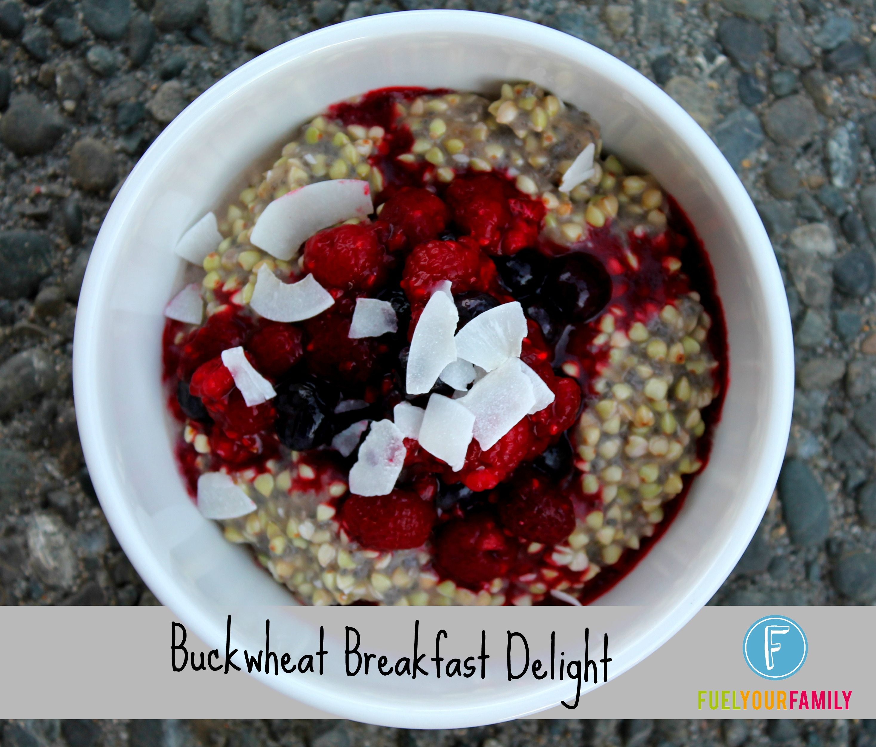 Buckwheat Breakfast Delight title
