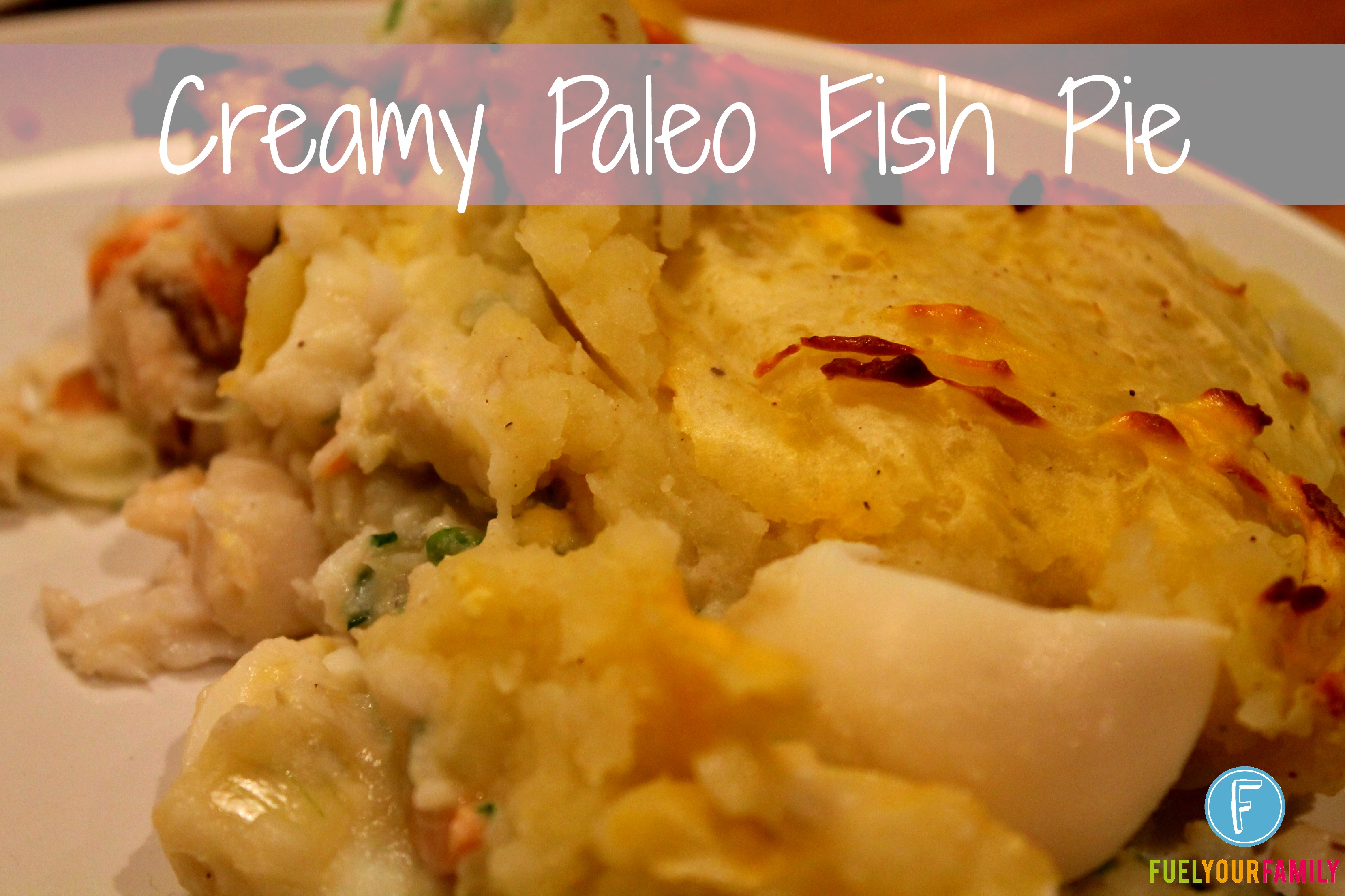 fish pie with coconut milk
